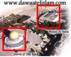 Kekeliruan antara masjidil-Aqsa & Qubbatus-sakhra.