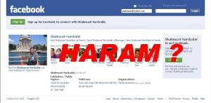 FACEBOOK HARAM