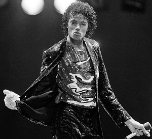 Michael Jackson pada tahun 1984