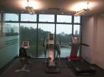 Kemudahan gym turut disediakan