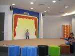Pentas aktiviti untuk kanak-kanak