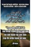 ALLAH melihat pada hati kita...