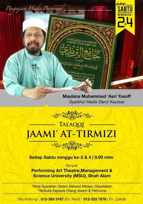 Talaqqi Jami` at-Tirmidzi
