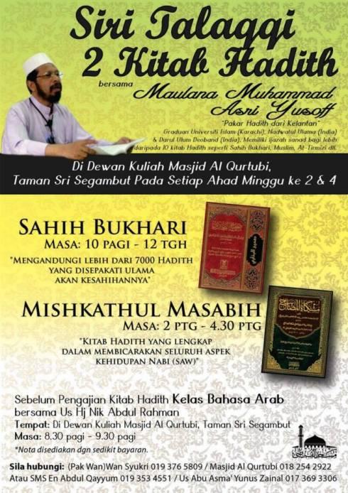 Talaqqi Sahih al-Bukhari & Misykat