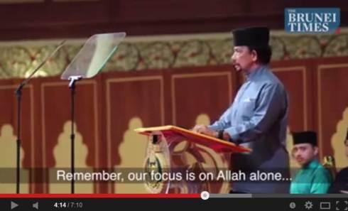"""Fokus kita hanyalah kepada ALLAH"""