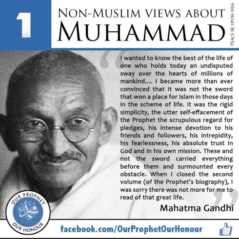 non muslims view about muhammad 1