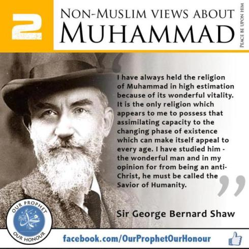 non muslims view about muhammad 2