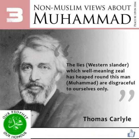 non muslims view about muhammad 3