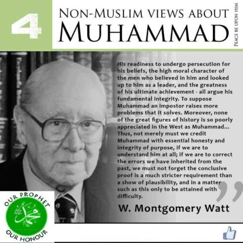 non muslims view about muhammad 4