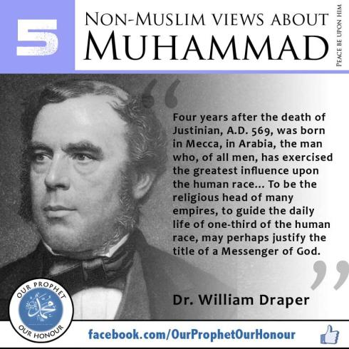 non muslims view about muhammad 5