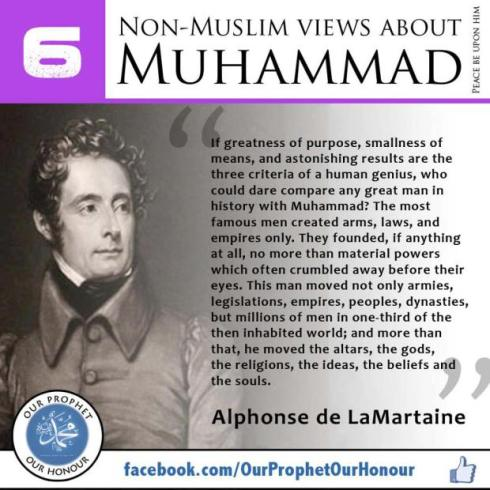 non muslims view about muhammad 6