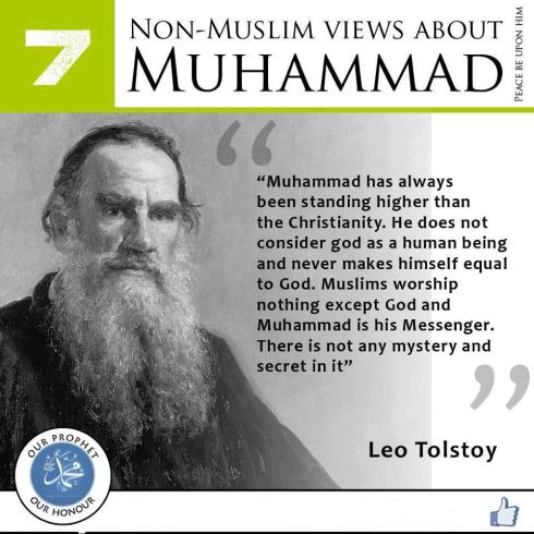 non muslims view about muhammad 7