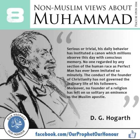 non muslims view about muhammad 8
